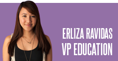 Erliza Ravidas - VP Education