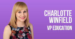 Charlotte Winfield - VP Education