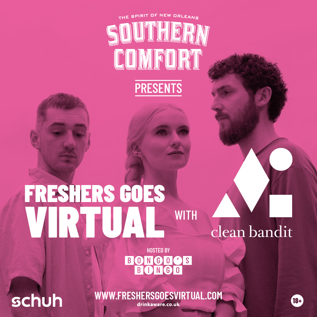 Freshers Goes Virtual with Southern Comfort and Clean Bandit