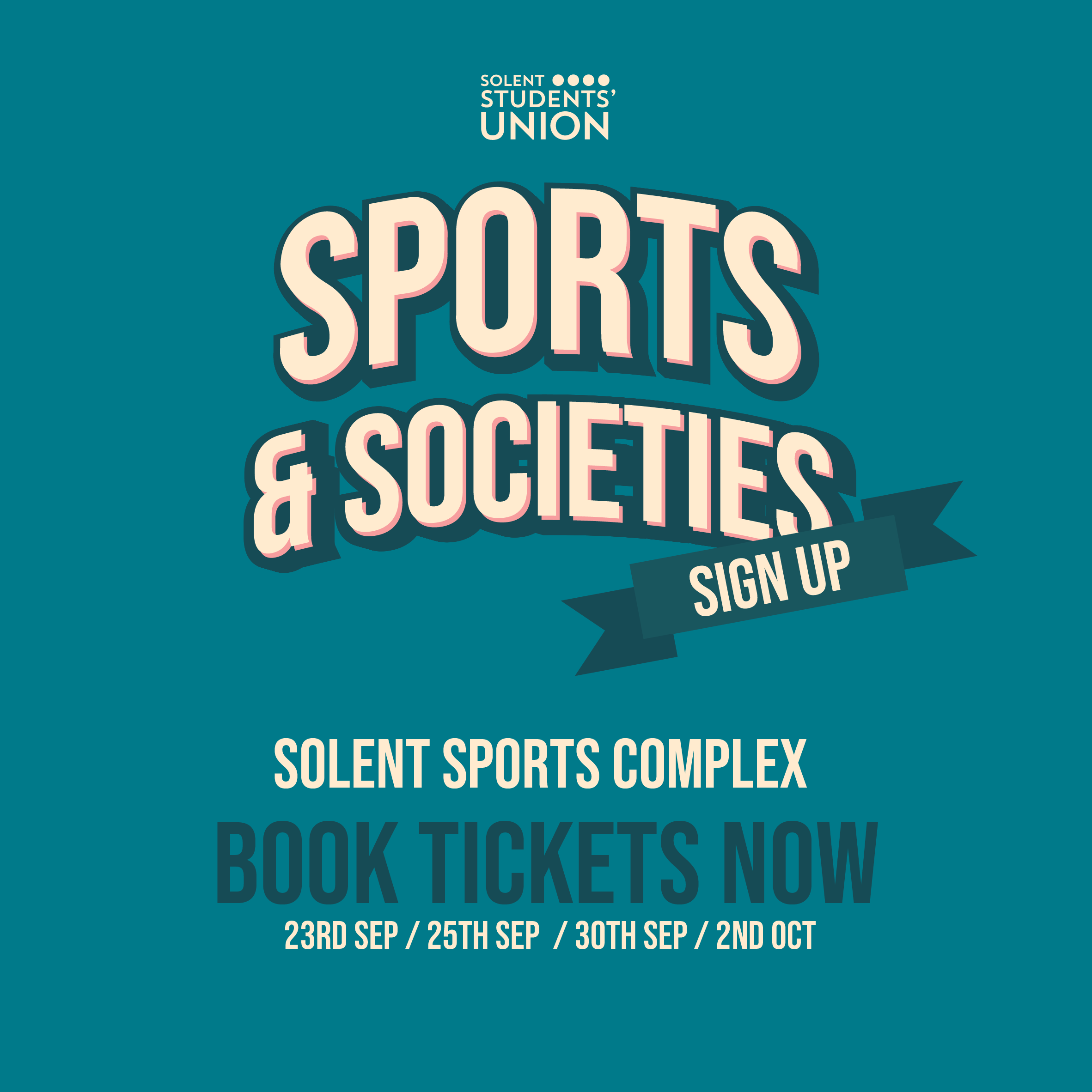 Sports and Societies Sign Up Days