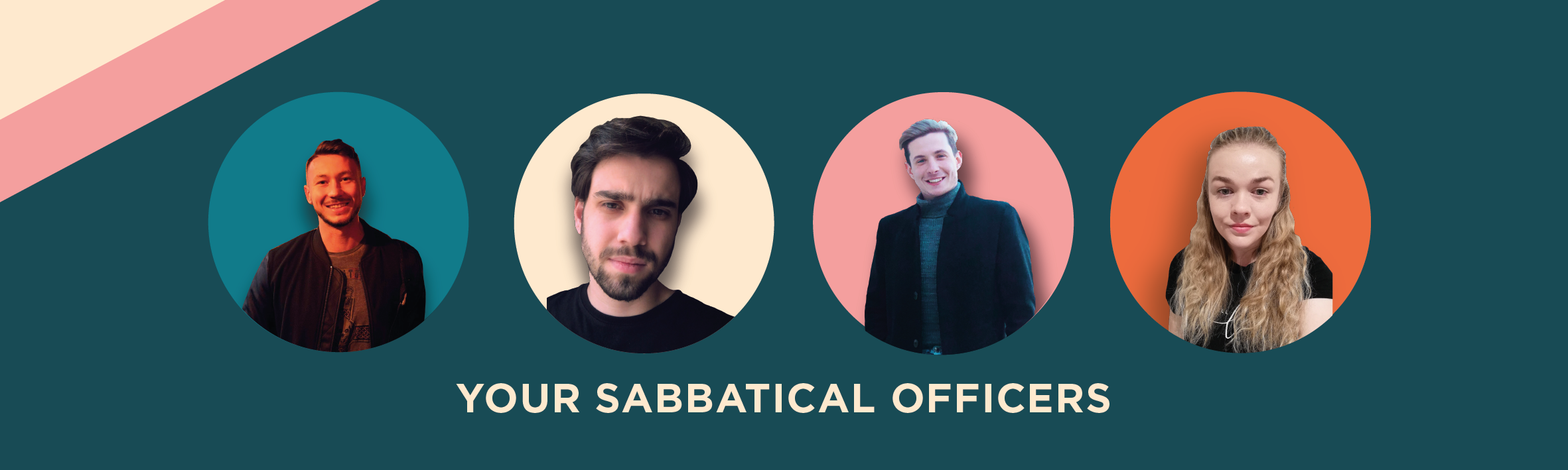 Your 2020 Sabbatical Officers